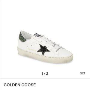Golden Goose Hi Star Platform Sneakers sz 35